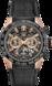 TAG Heuer Carrera(卡莱拉系列)腕表 黑色 橡胶和鳄鱼皮 精钢和黄金 黑色