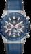 TAG HEUER CARRERA(卡莱拉系列)腕表 蓝色 橡胶和鳄鱼皮 精钢和陶瓷 蓝色