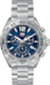 TAG HEUER FORMULA 1(F1系列)腕表 黑色、灰色和蓝色 精钢 精钢 蓝色