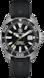 TAG Heuer Aquaracer(竞潜系列)腕表 蓝色和黄色 橡胶 精钢 黑色