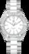 TAG Heuer Aquaracer(竞潜系列)腕表 无色 抛光精钢和陶瓷 精钢 HX0P06