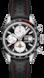 TAG Heuer Carrera(卡莱拉系列)腕表 黑色 皮革 精钢 黑色