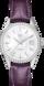 TAG Heuer Carrera(卡莱拉系列)腕表 紫色 鳄鱼皮 精钢 白色