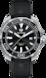 TAG Heuer Aquaracer(竞潜系列)腕表 黑色 橡胶 精钢 黑色