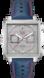 TAG HEUER MONACO(摩纳哥系列)腕表: 蓝色 皮革 精钢 灰色