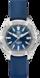 TAG Heuer Aquaracer(竞潜系列)腕表 蓝色 橡胶 精钢 蓝色