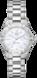 TAG Heuer Aquaracer(竞潜系列)腕表 无色 精钢 精钢 白色