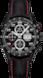 TAG Heuer Carrera(卡莱拉系列)腕表 黑色 鳄鱼皮 钛金属 黑色