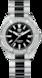 TAG Heuer Aquaracer(竞潜系列)腕表 无色 抛光精钢和陶瓷 精钢 黑色