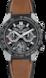 TAG HEUER CARRERA(卡莱拉系列)腕表 棕色 橡胶和皮革 钛金属和陶瓷 黑色