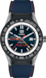 TAG HEUER CONNECTED MODULAR Blue Rubber and Leather Titanium