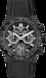TAG HEUER CARRERA(卡莱拉系列)腕表 黑色 橡胶和鳄鱼皮 陶瓷 黑色