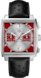 TAG HEUER MONACO(摩纳哥系列)GPHM腕表 黑色 皮革 精钢 红色