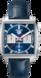 TAG Heuer Monaco(摩纳哥系列)腕表 蓝色 鳄鱼皮 精钢 蓝色