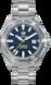 TAG Heuer Aquaracer(竞潜系列)腕表 无色 精钢 精钢 蓝色