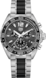 TAG Heuer Formula 1(F1系列)腕表 无色 抛光精钢和陶瓷 精钢和陶瓷 灰色