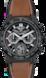 TAG Heuer Carrera(卡莱拉系列)腕表 黑色 橡胶和皮革 陶瓷 黑色