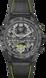 TAG Heuer Carrera(卡莱拉系列)腕表 黑色 橡胶和皮革 碳鈦合金 黑色