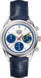 TAG Heuer Carrera 160 Years Anniversary 蓝色 鳄鱼皮 精钢 白色