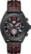 TAG HEUER FORMULA 1 黑色 橡胶 覆黑色PVD涂层精钢 HX0R20